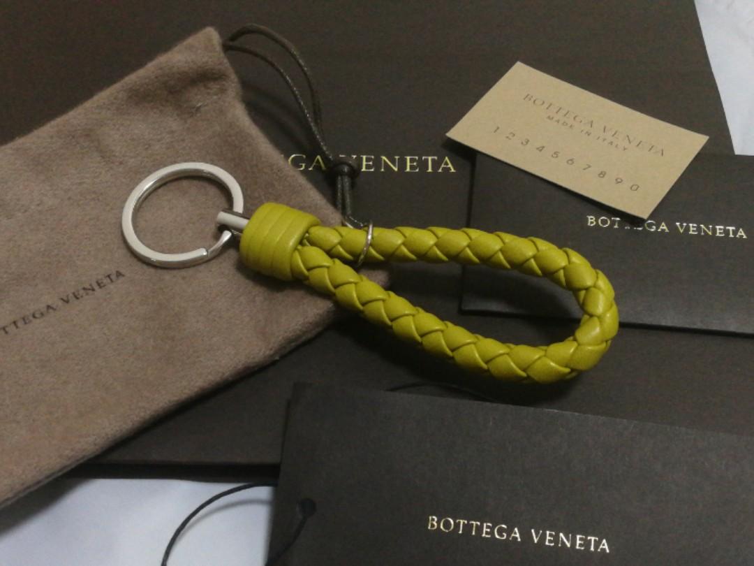 Bnib Bottega Veneta Classic Key Ring Authentic Unisex