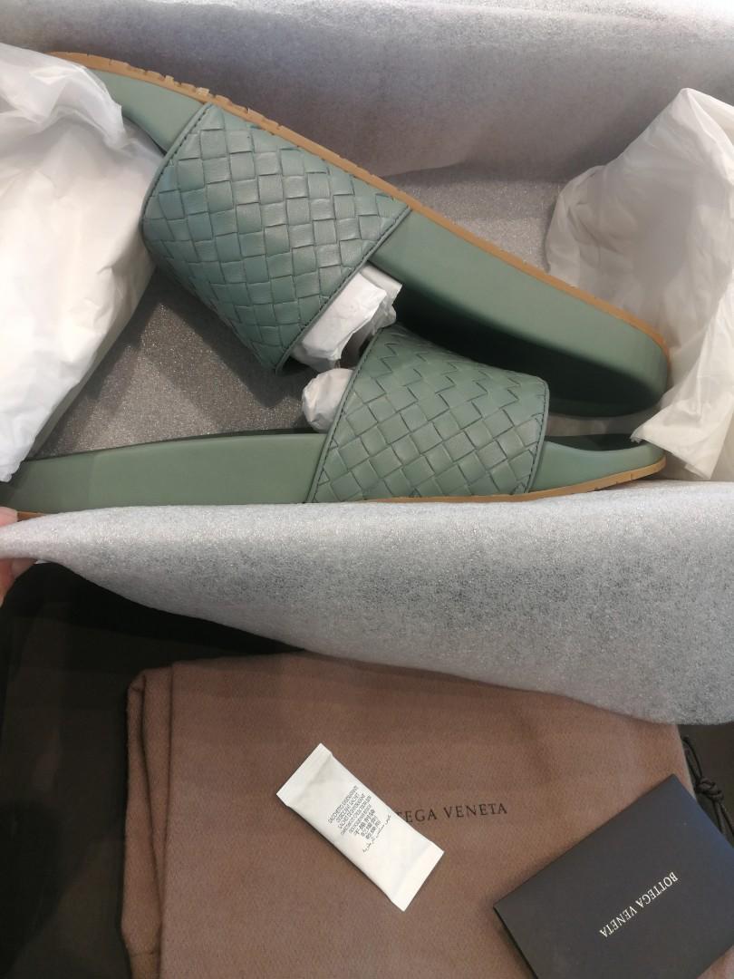Bnib Bottega Veneta Classic Men Sandals Authentic