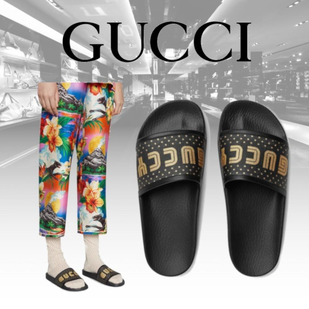 Bnib Gucci Unisex Sandals Authentic