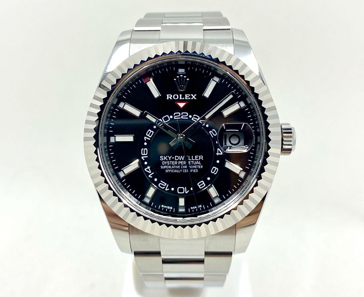BNIB Rolex Sky-Dweller 326934 Black
