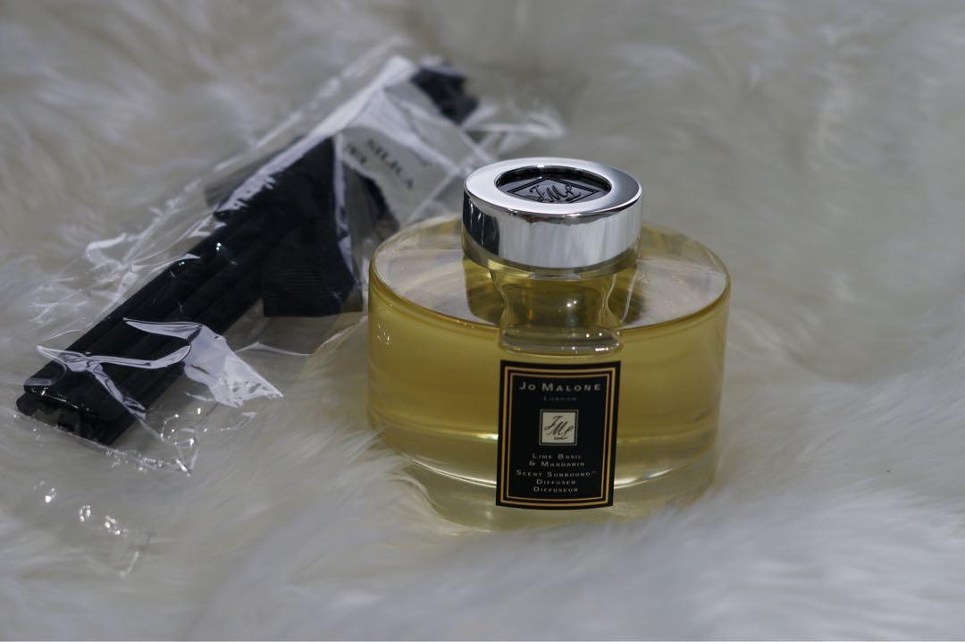 Brand  New: Authentic Jo Malone -  Lime Basil & Mandarin  Diffuser