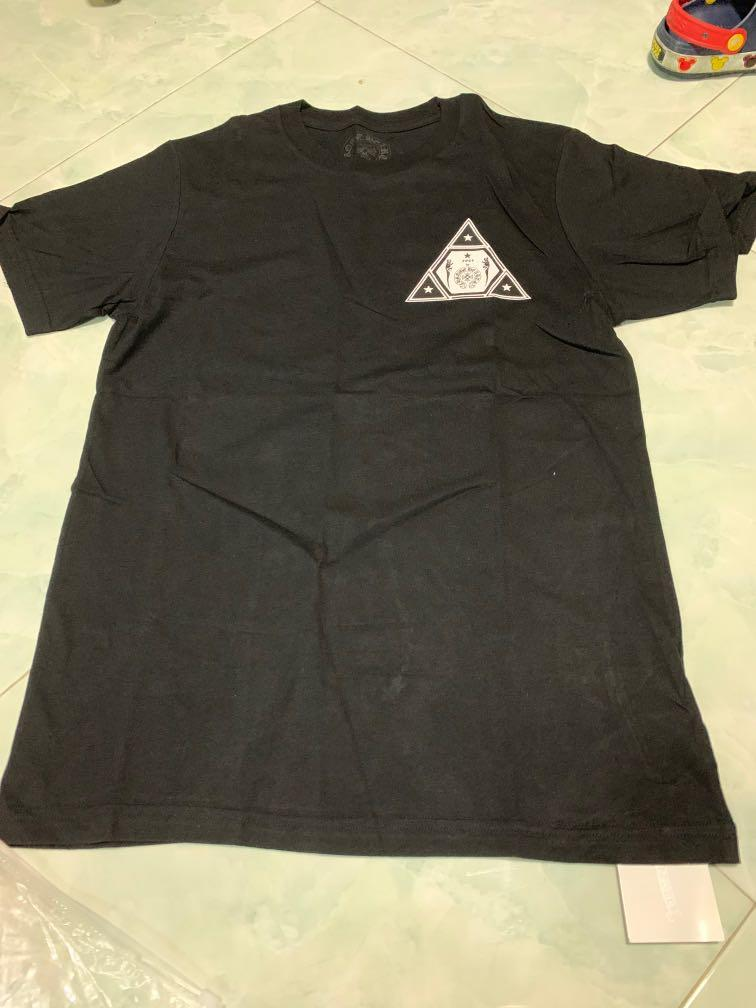 Brand new unisex chrome hearts black tee S form japan