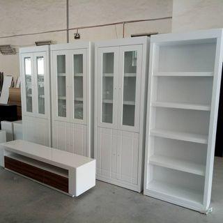 Almari Kaca Display Home Furniture