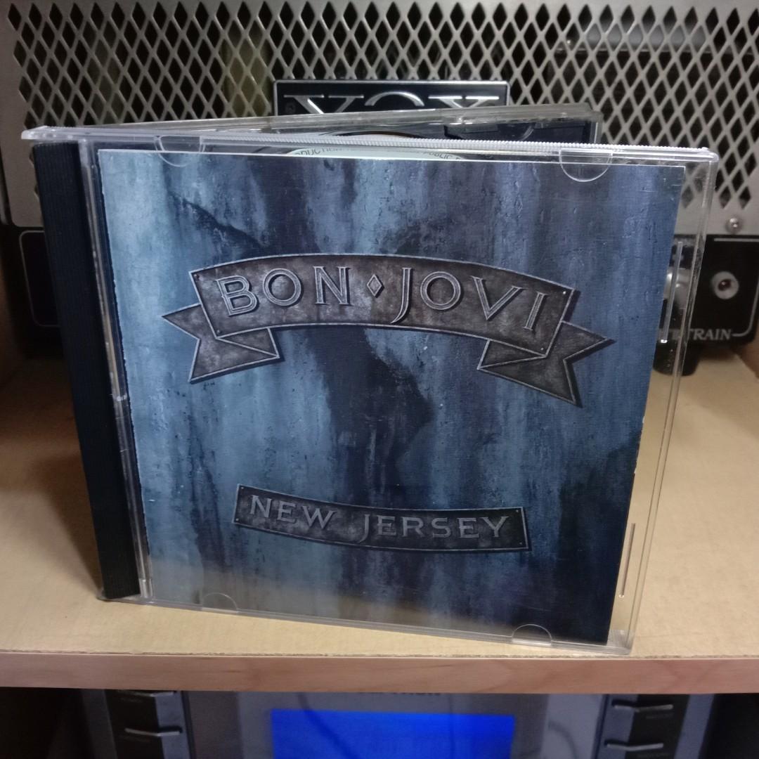 CD Original - Bon Jovi - New Jersey