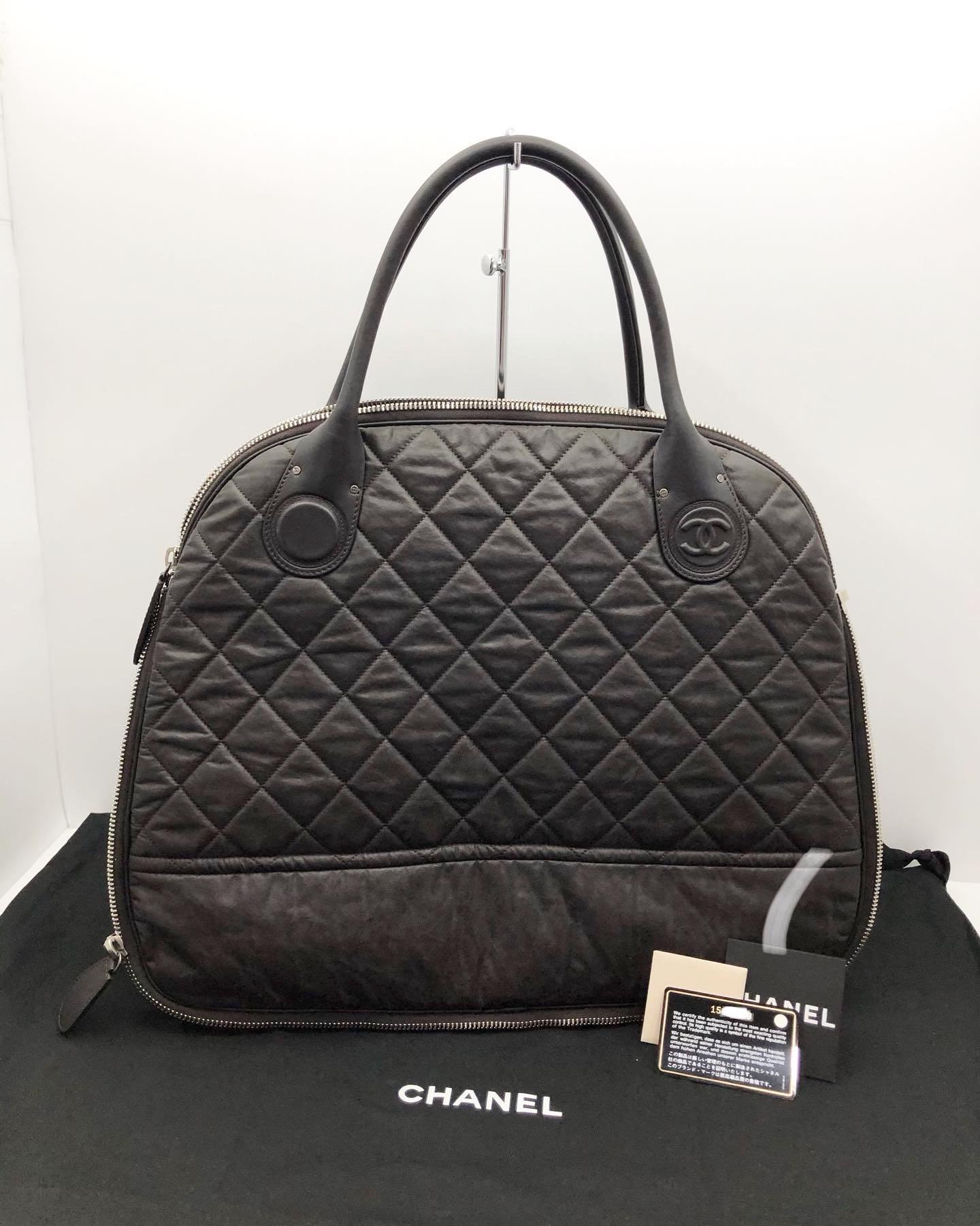 CHANEL Hand Bag / No15 coating&leather 207008109 •