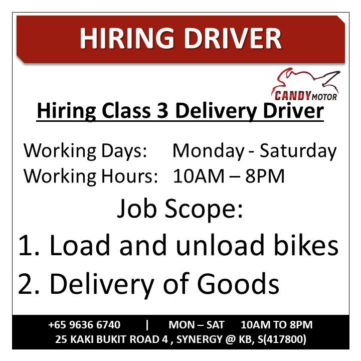 Delivery Lorry Driver