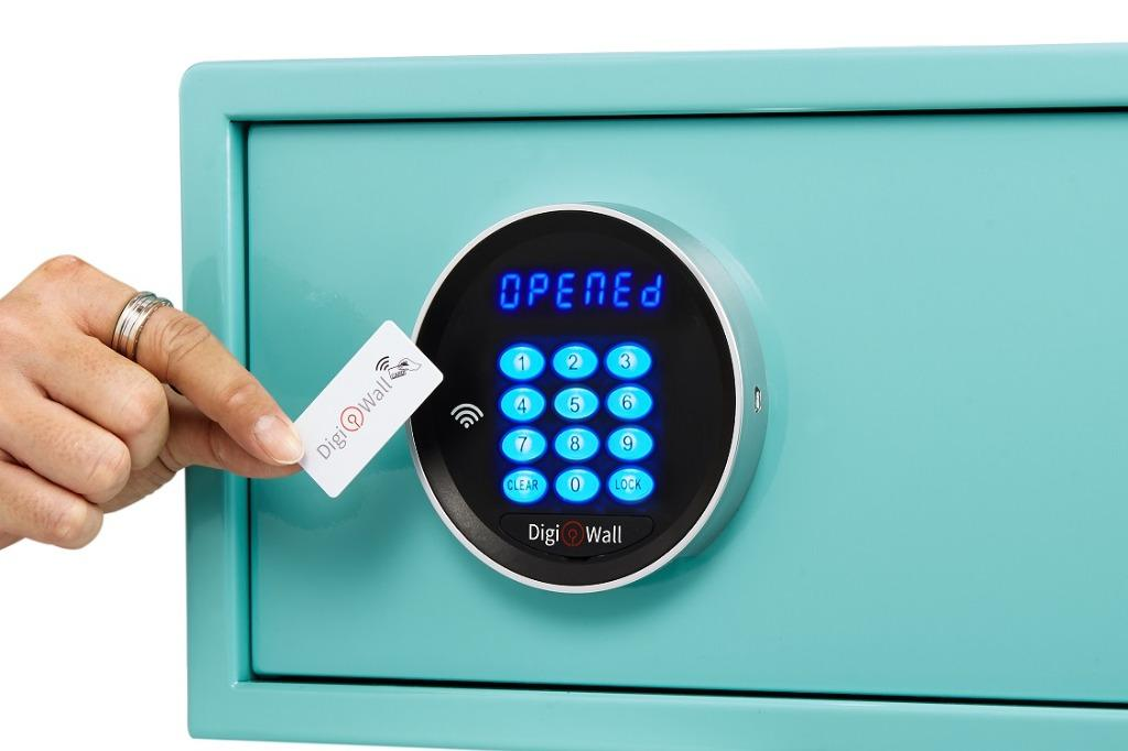DigiWall RFID Safe ~ Smart solutions for a beautiful home.