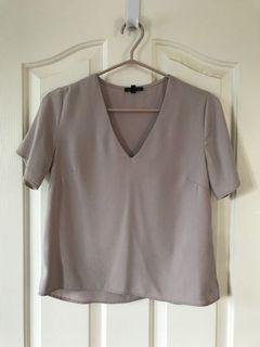 Dynamite nude blouse