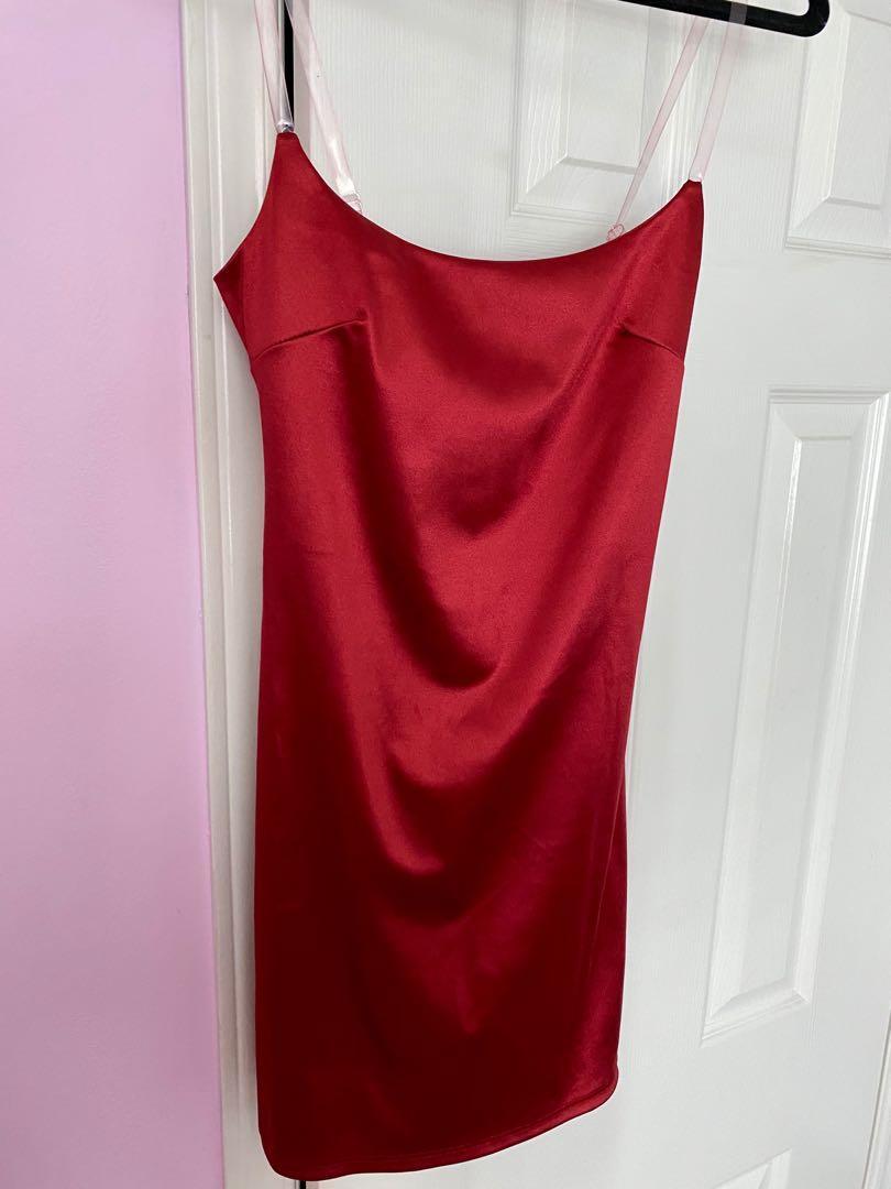 Fashionnova red mini dress