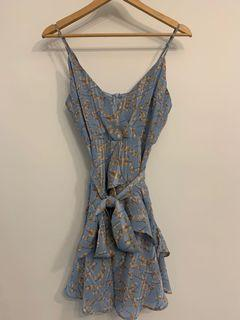 FLORAL MINI DRESS FROM HONEY