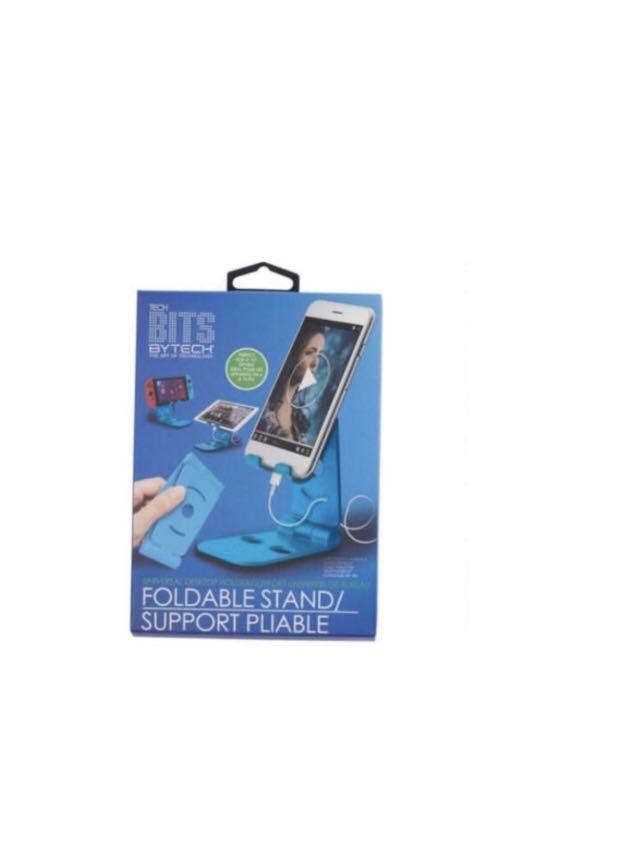 Foldable Universal Desktop Phone Gaming Device Stand Holder, Make-up Tutorial, Holiday Cooking Recipe