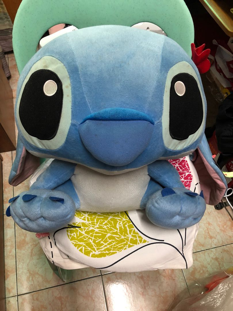 Flounder Stuffed Animal, Giant Stitch Doll Plush Toys Games Toys On Carousell