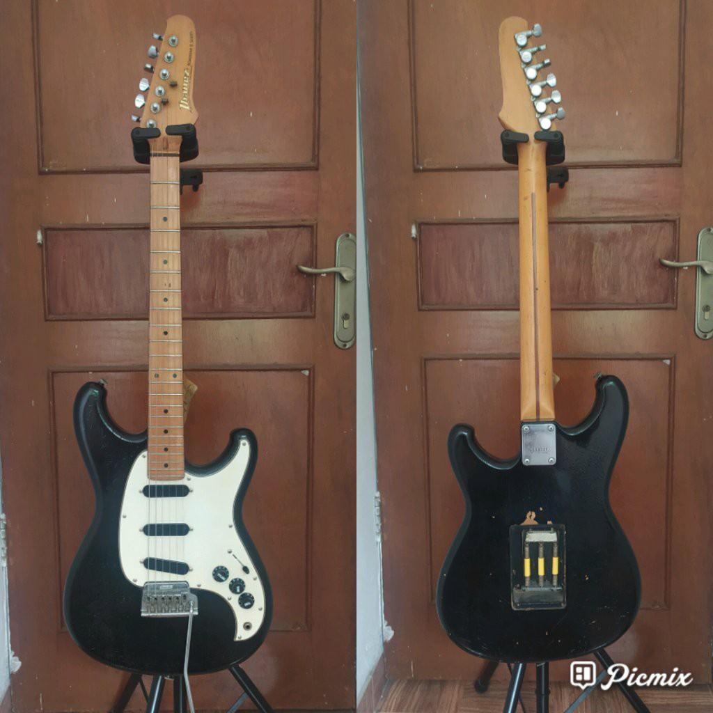 Gitar ibanez roadstar ii series RS 135 made in Japan 1984