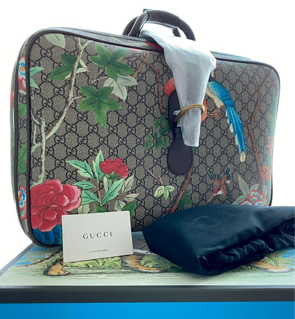 Gucci - GG Supreme TIAN Suitcase / Carry-On