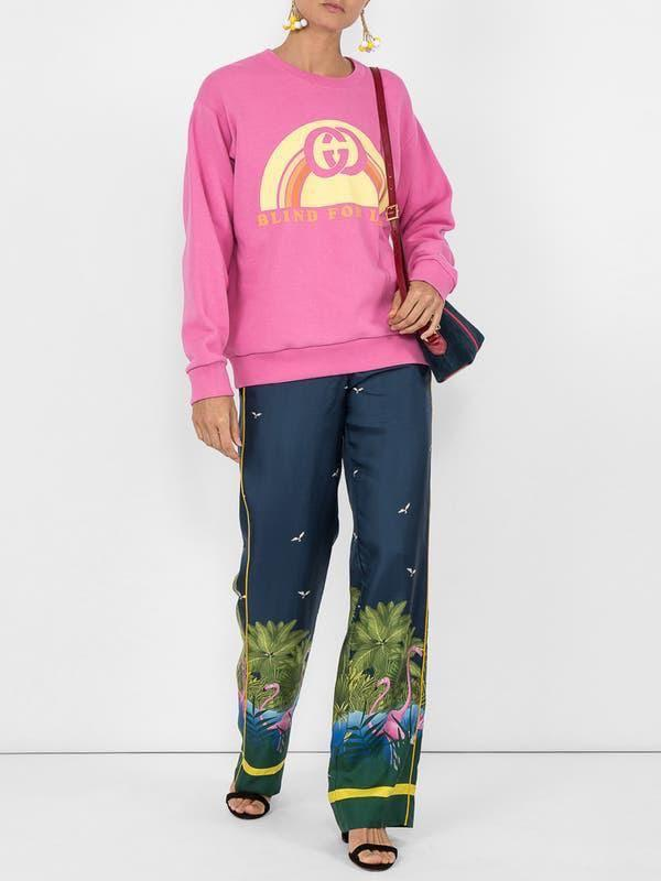 Gucci - LOWEST POSSIBLE PRICE - Sweater featuring a graphic and 'Blind for Love' at front - Size S