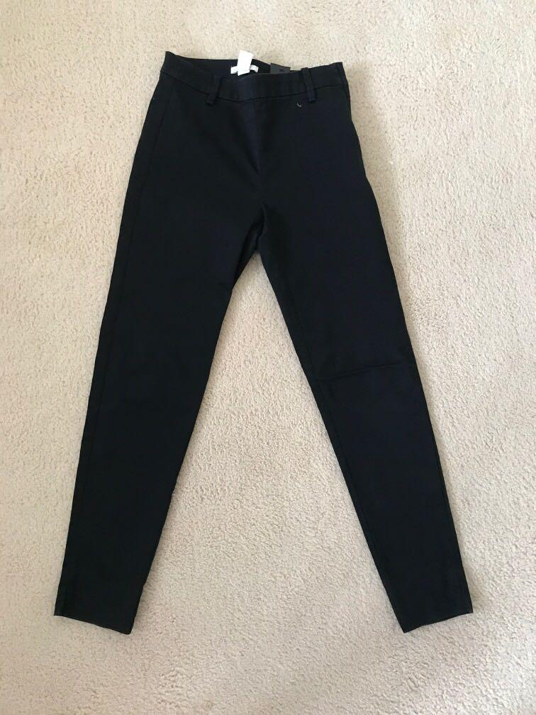 H and m black pants