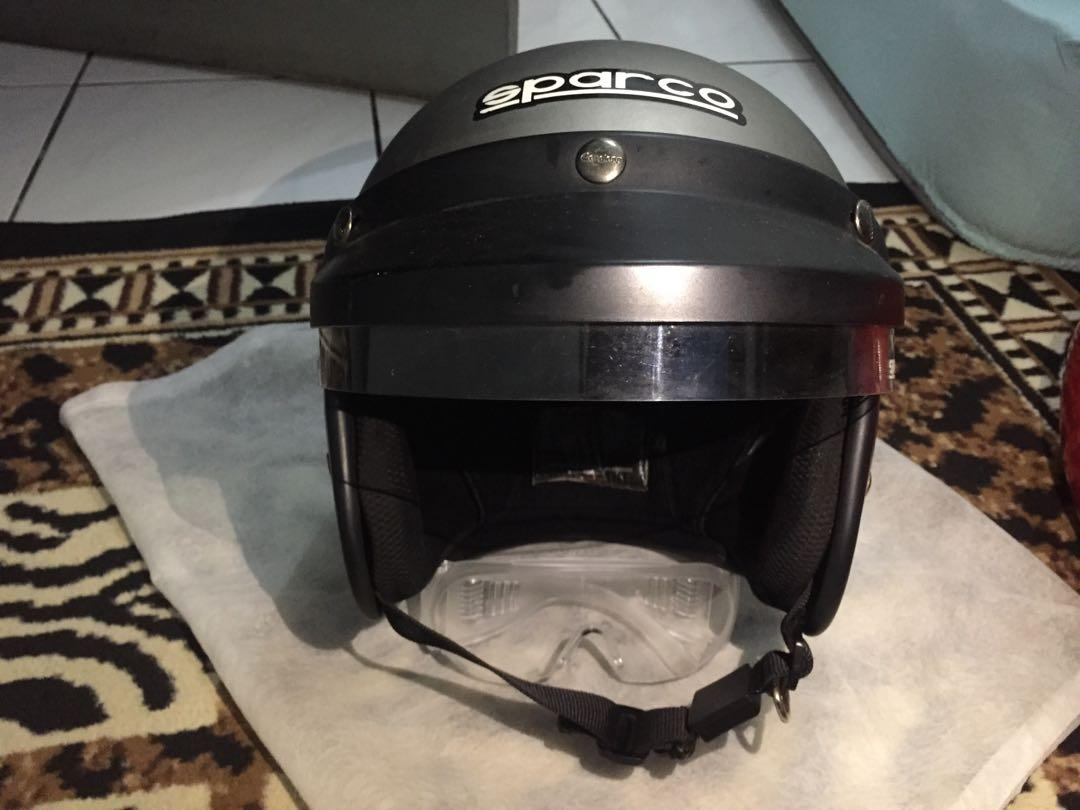 Helm Cargloss Rally Look Sparco WRC