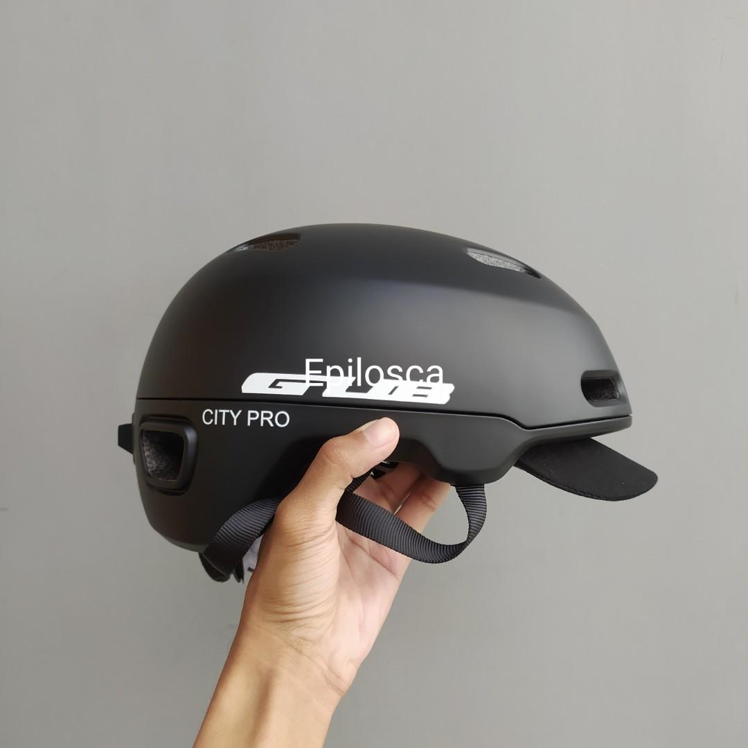 Helm Sepeda Gub City Pro (Black)