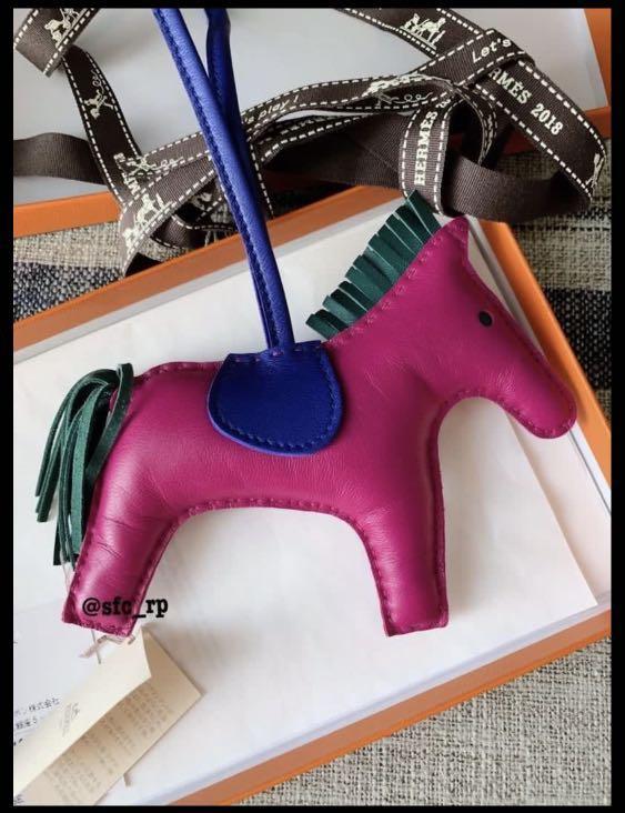 Hermes rodeo bag charm