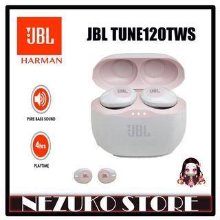 JBL TUNE120TWS / Tune 120TWS / Tune 120 Truly Bluetooth wireless in-ear headphones Pink