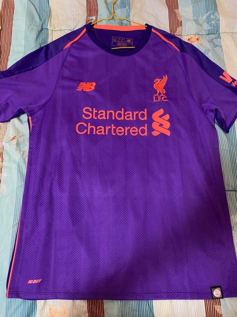 Jersey Bola Liverpool Away 2018/19