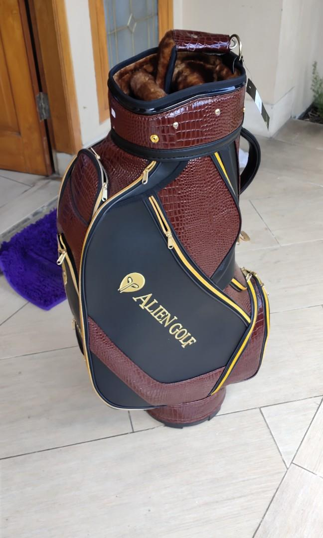 Jual tempat stik golf blm sama sekali di pakai