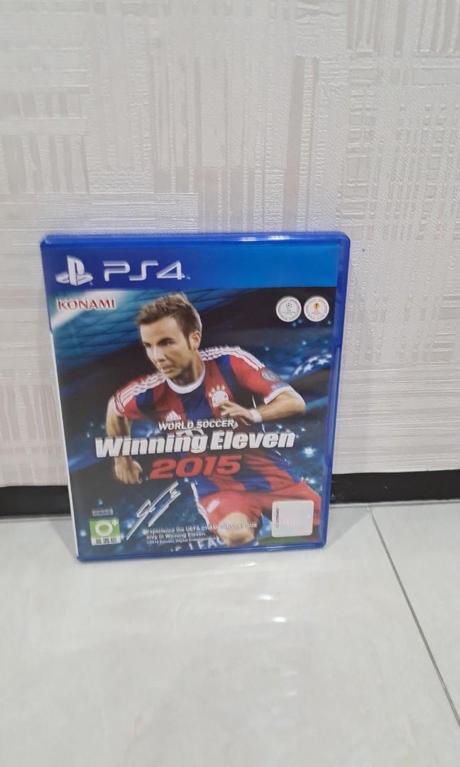 Kaset PS4 winning eleven  2015