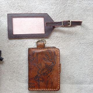 Lanyard & Dompet Kunci STNK Kulit (Leather)