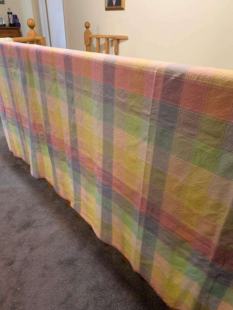 Large tablecloth - pastel
