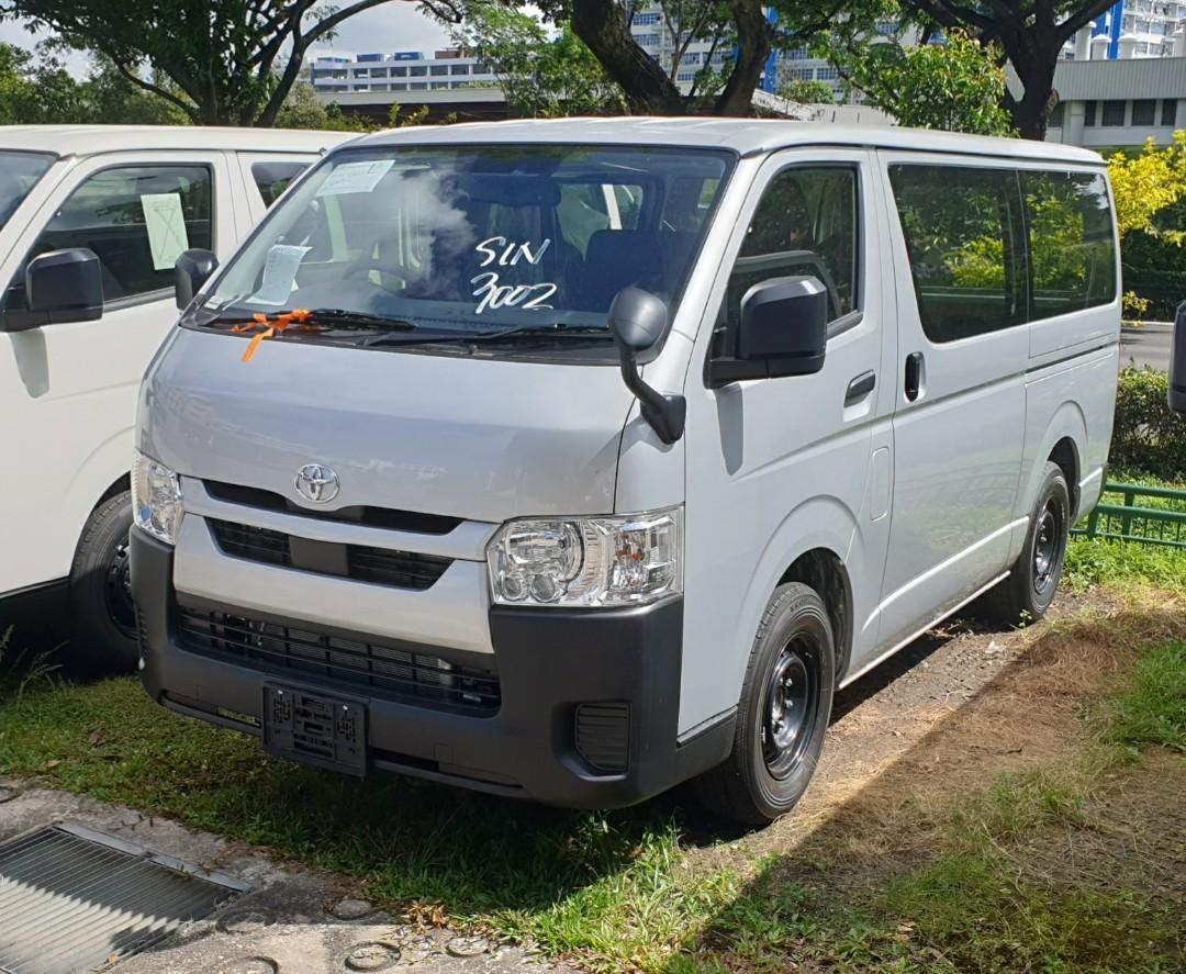 $1.8k Driveaway Latest Facelifted Toyota Hiace Auto Available For Booking!