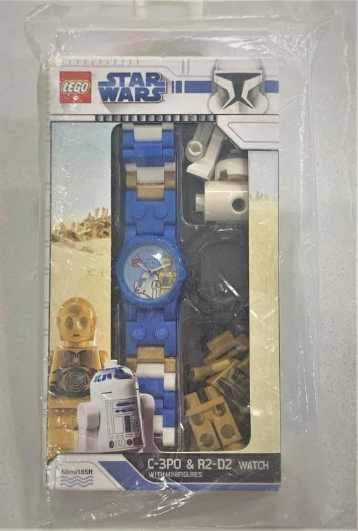 Lego Star Wars C-3PO And R2-D2 Watch Bundle With Minifigures