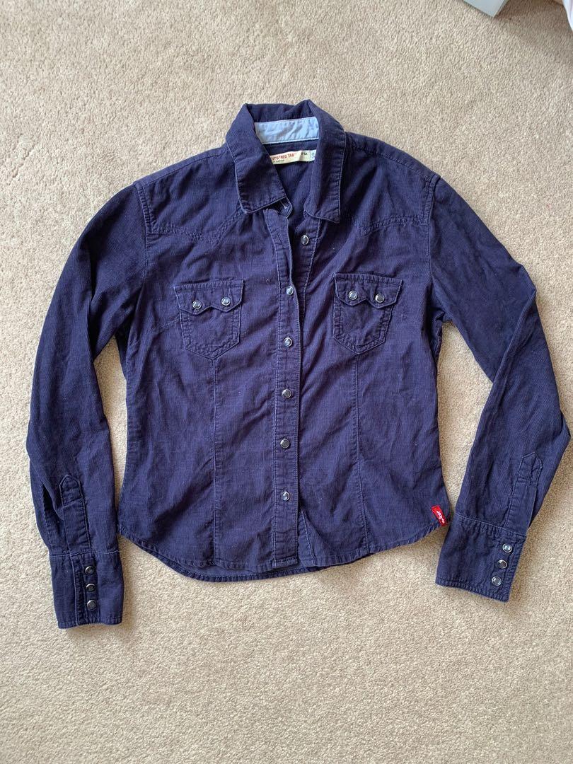 Levi's Cotton Button-Up