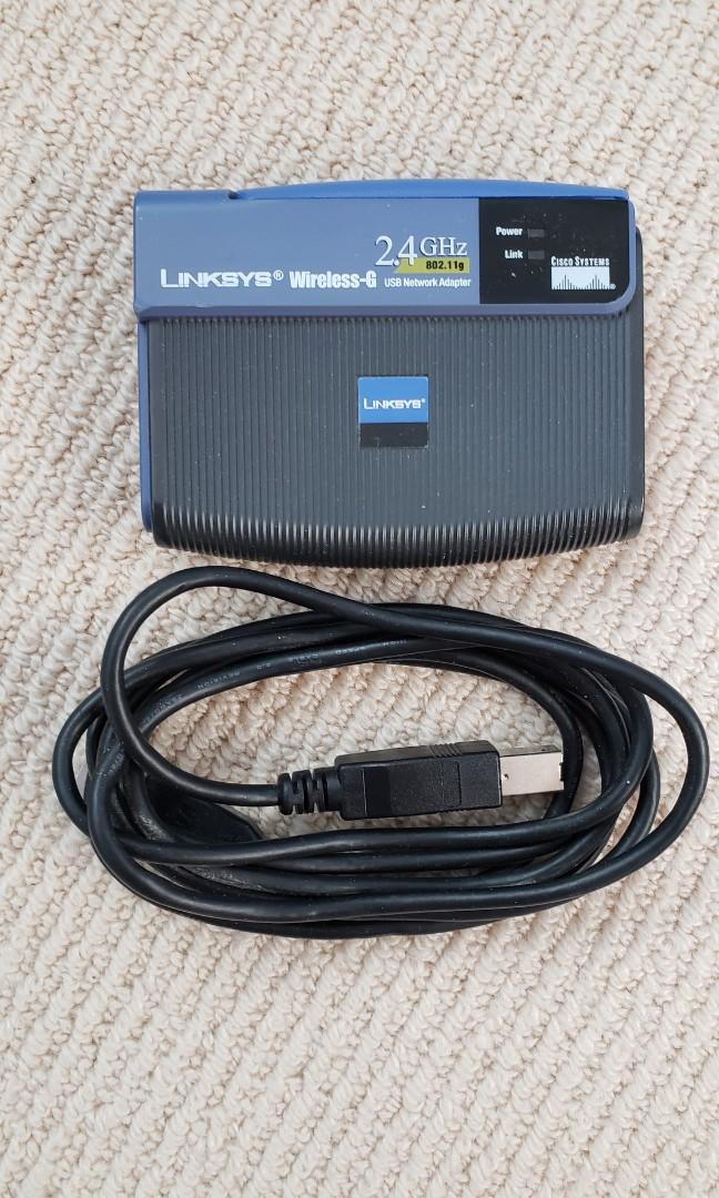 Linksys Wireless-G USB Network Adapter 2.4 GHz