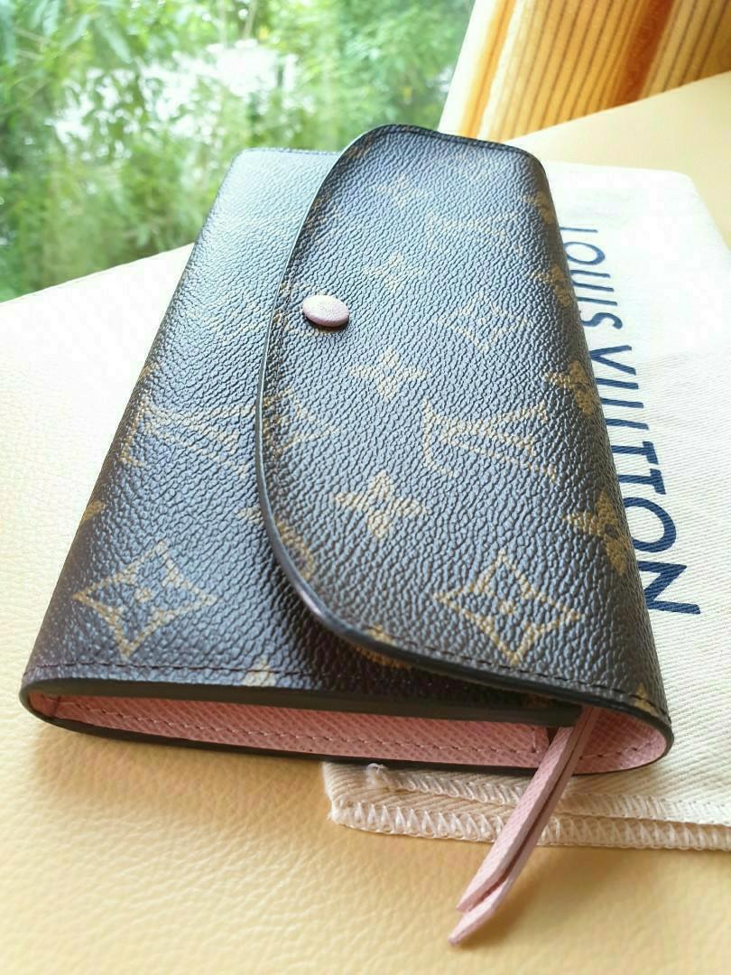 Louis Vuitton LV Monogram Pink Wallet