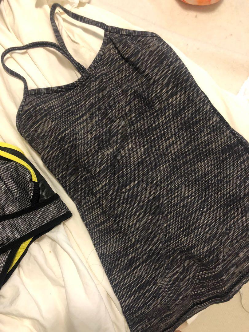 Lululemon workout tank tops