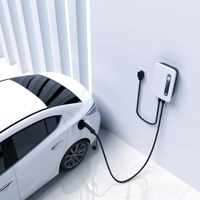 Lvl 2 Electric Vehicle EV Charging Station 32A NEMA 14-50 EV Charger Level 2 7.68KW 220v-240v