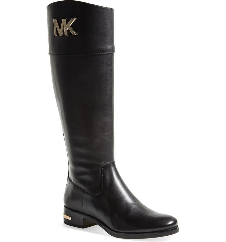 Michael Kors riding boots size 8