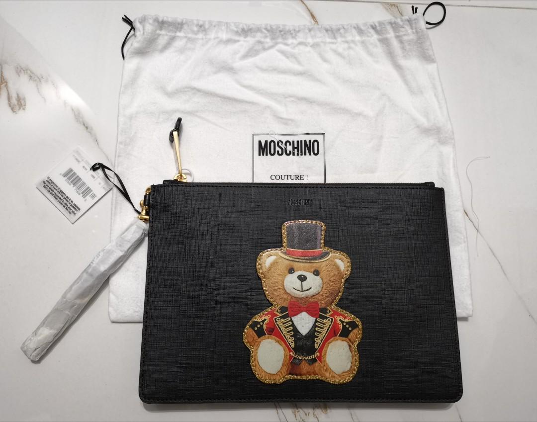 Moschino Circus Teddy Bear Clutch *Brand New*