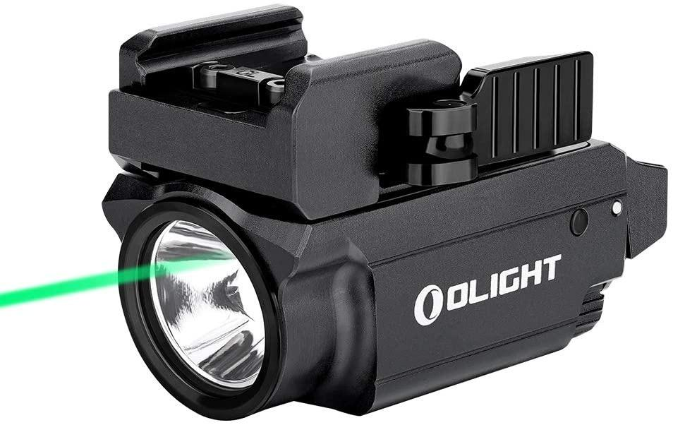 Olight Baldr Mini 600 Lumens Compact with Green Light and White LED