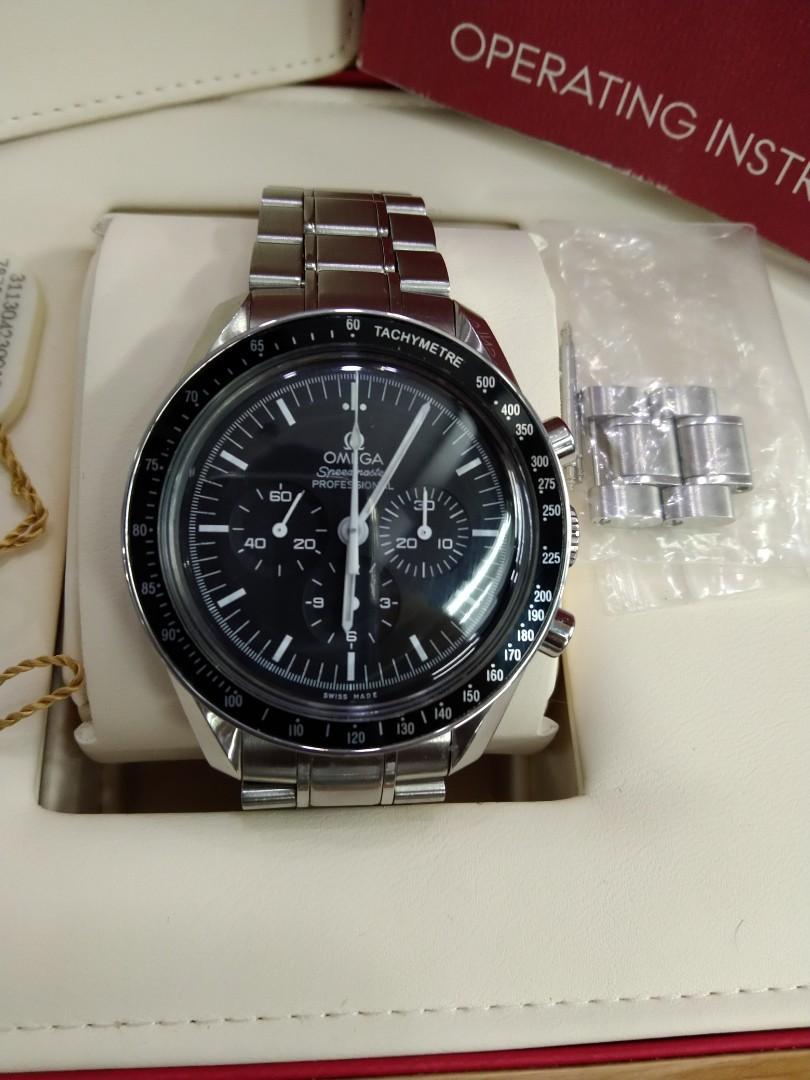(sold)Omega moon watch speedmaster professional