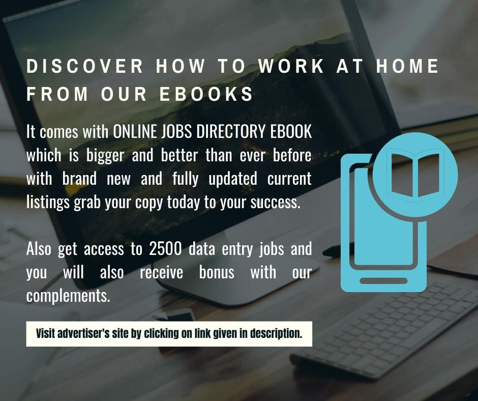 Online jobs directory e-book.