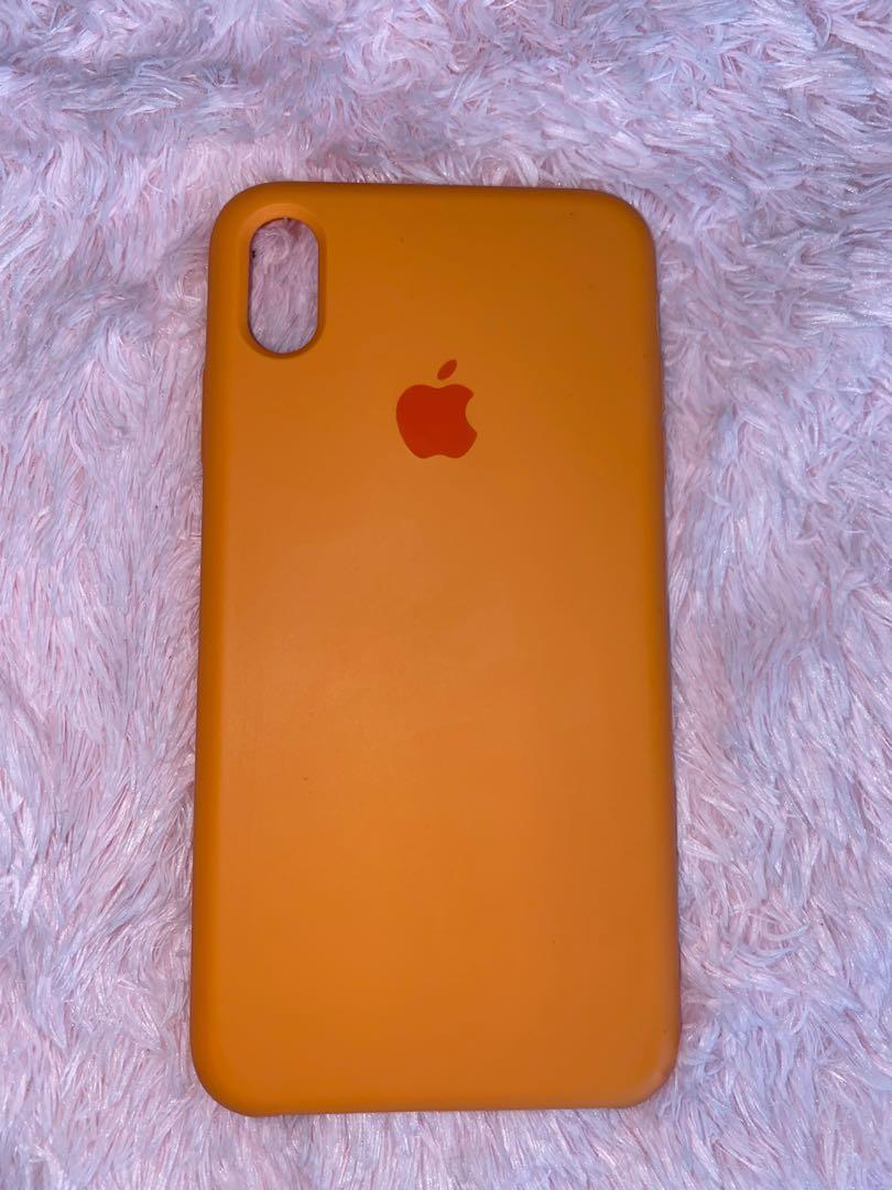 Orange Iphone Xs Max phone case