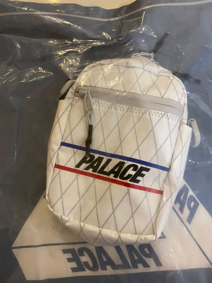 Palace ss20 dimension shot bag -White