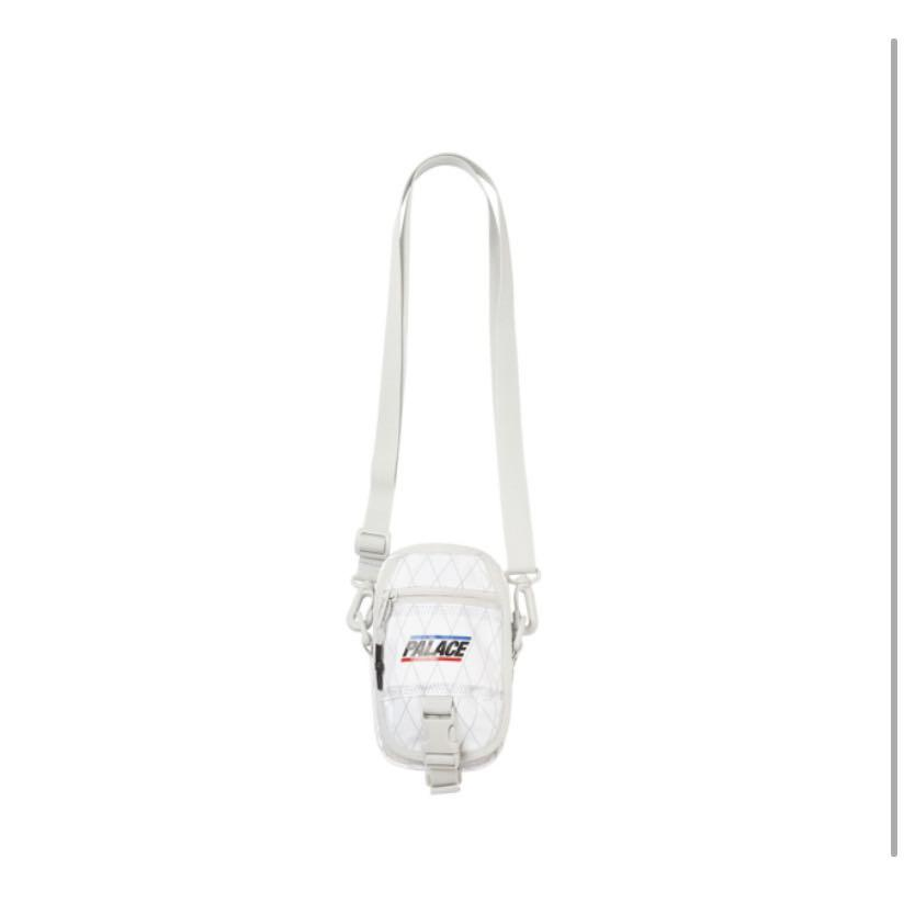 Palace ss20 dimension strap It bag -White