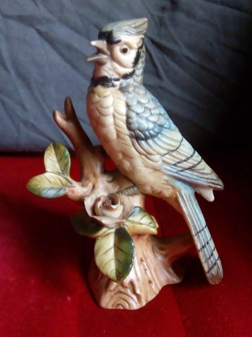 Panjangan burung keramik antik