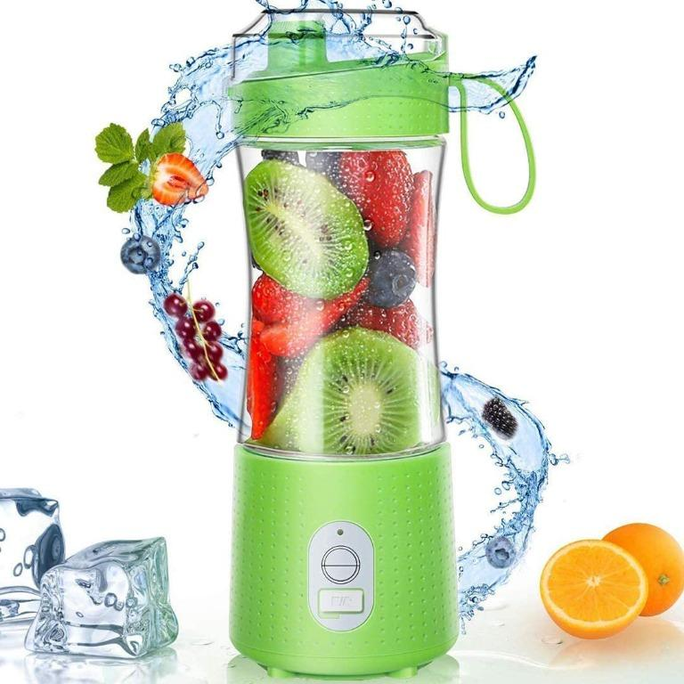 Personal Size Blender Smoothies and Shakes USB Rechargeable 380ML