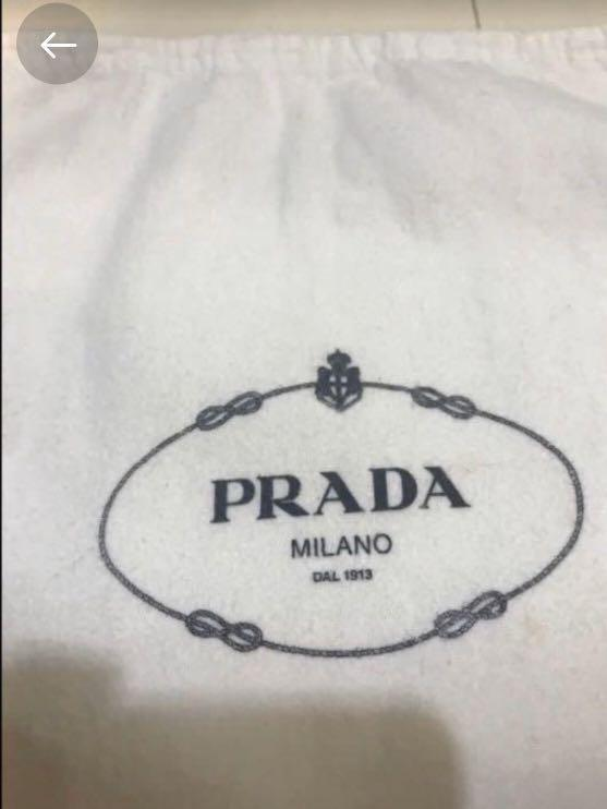 Preloved Prada dust bag for small bags