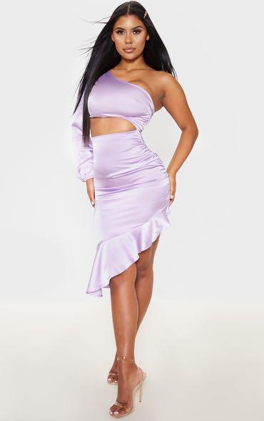PRETTY LITTLE THING LILAC DRESS