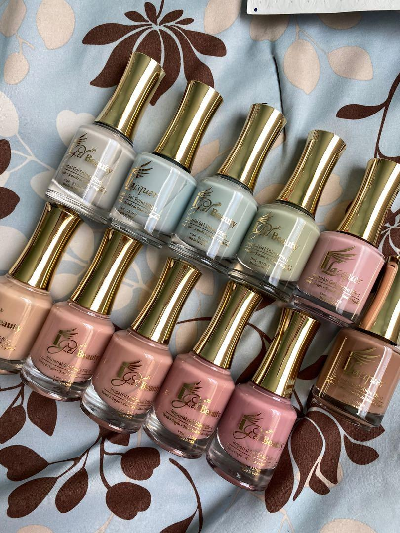 Regular Nail Polishes (iGel)