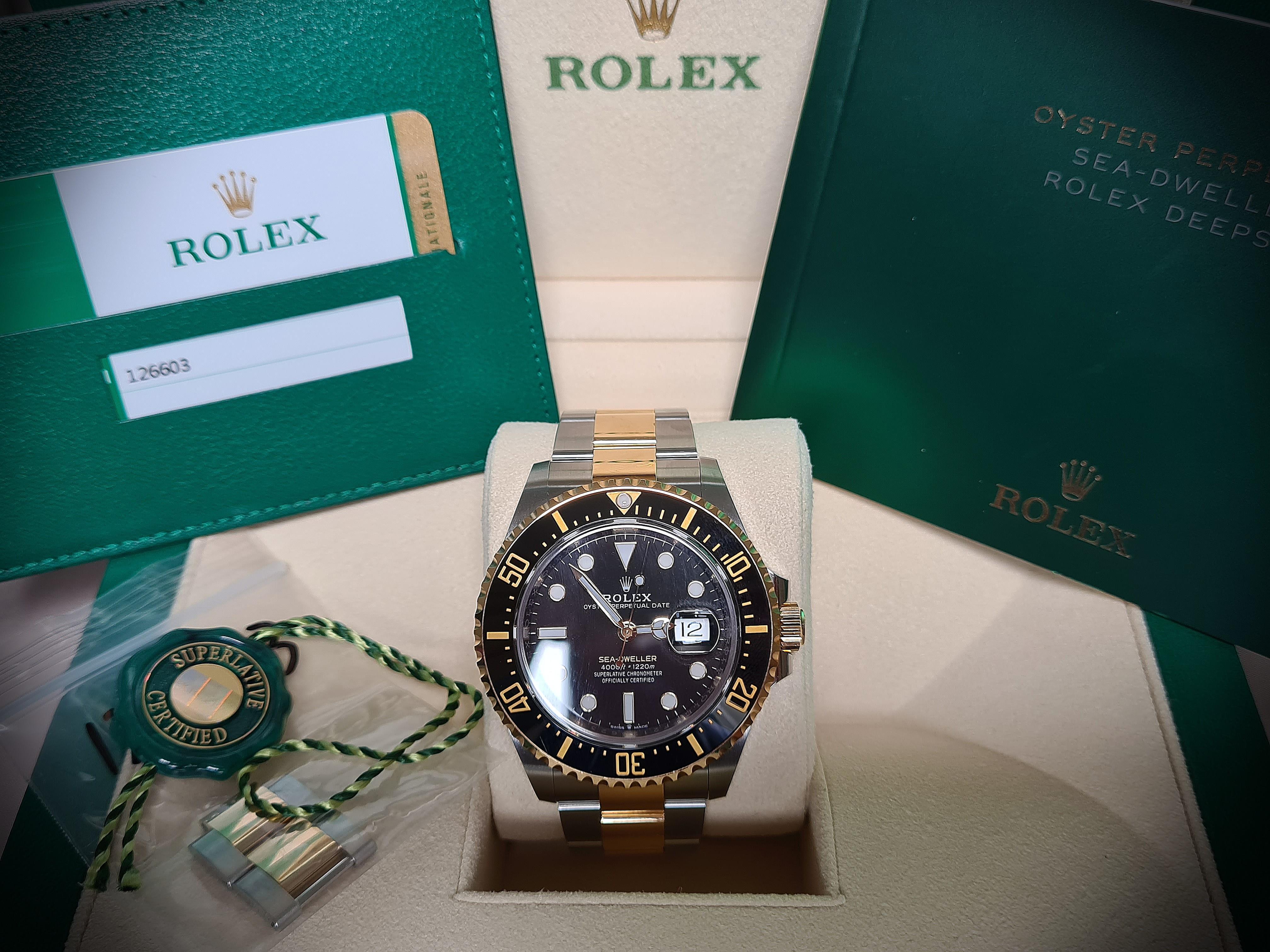 Rolex sea dweller 126603